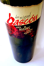 Bottle image of Miguel Gascon Malbec wine from Argentina