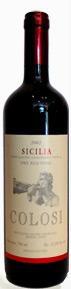 Colosi Rosso Sicilia Red Wine