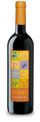 El Paseo Valencia Red Tempranillo Wine bottle image